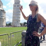 The tourist pic with Pisa